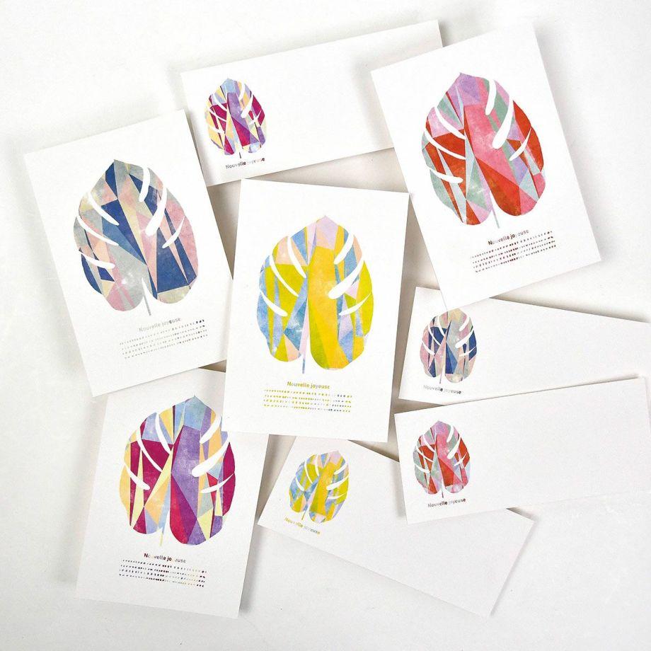 ファルベのインテリアポスターで販売中のポストカード「♡」