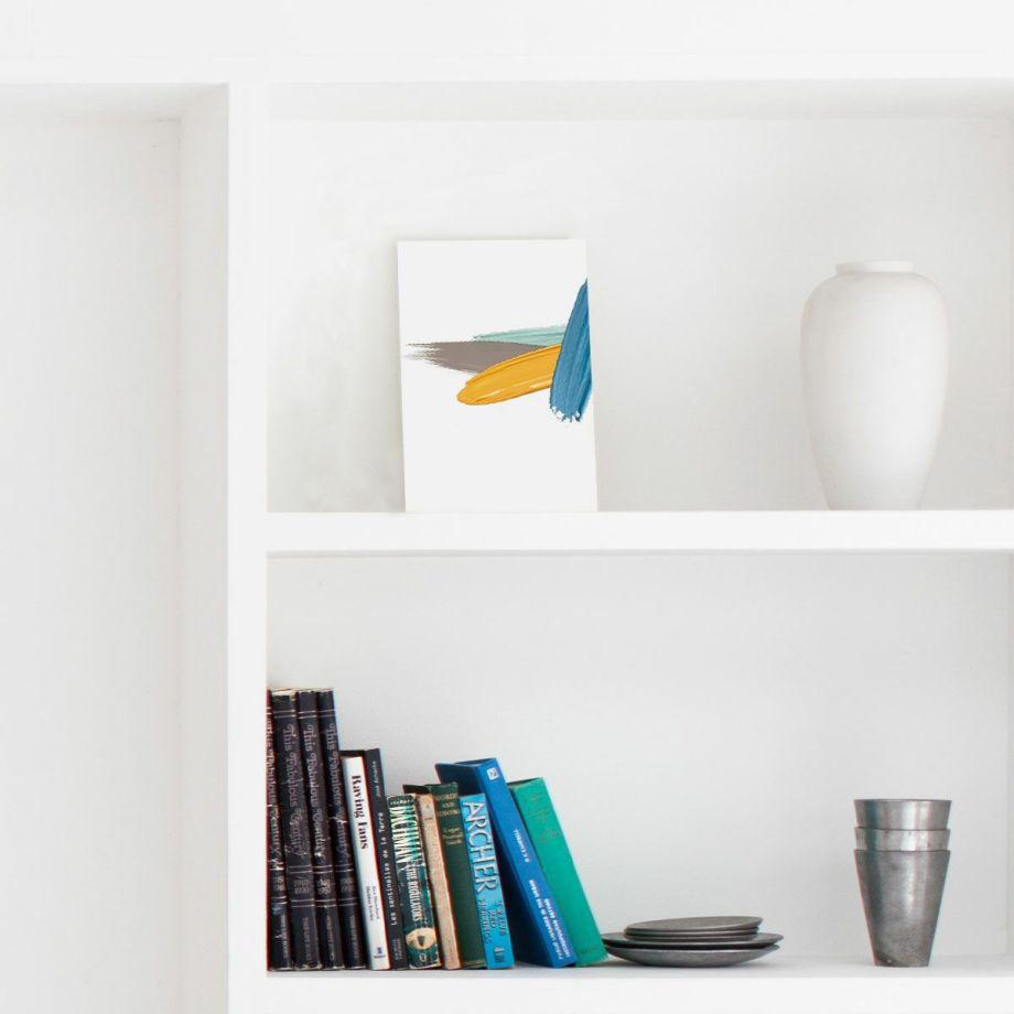 ファルベのインテリアポスターで販売中のポストカード「draw」