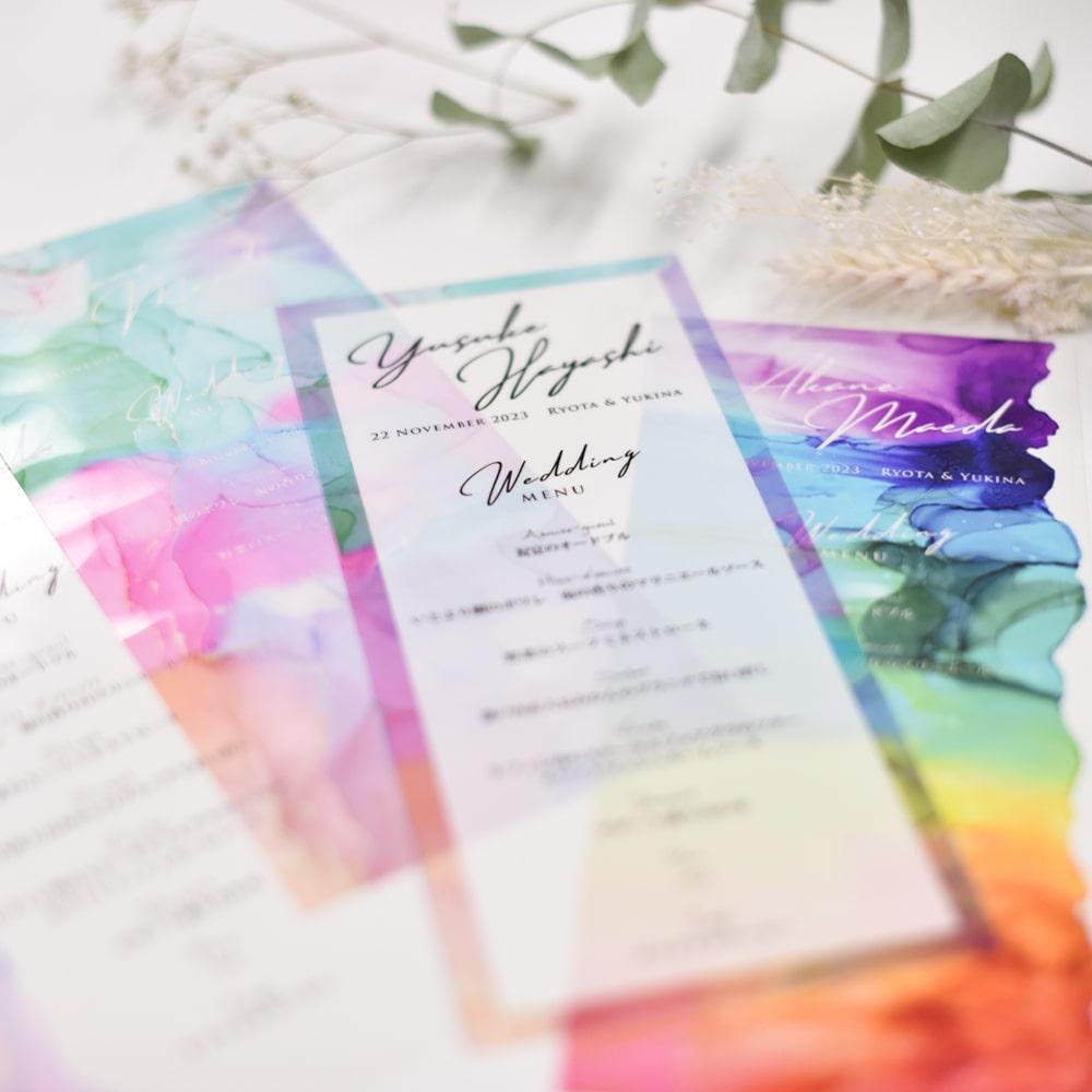好きなフォントを選んで作る結婚式のオリジナルアイテム