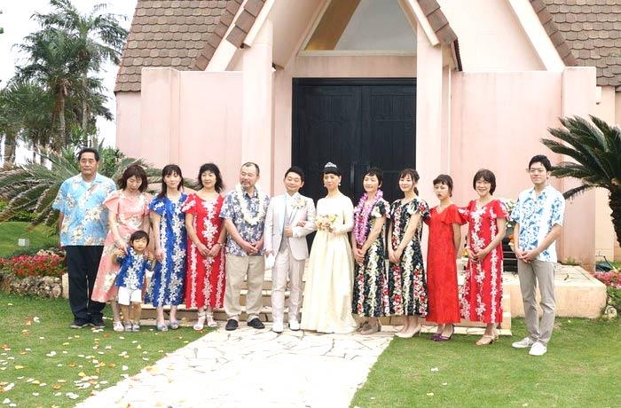 沖縄リゾ婚卒花さんレポート
