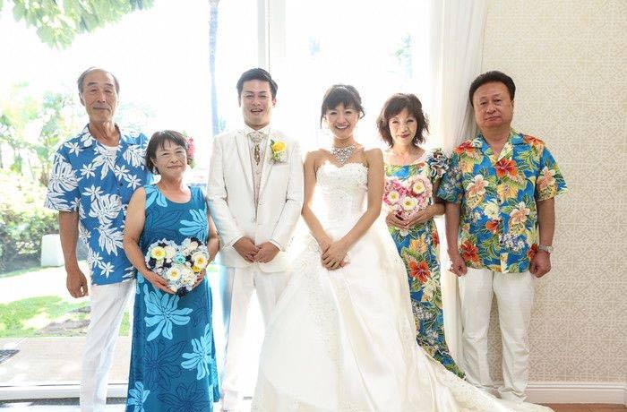 ハワイ婚卒花さんレポート