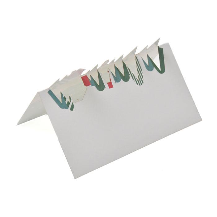 デザインカット席札「クリスマス」(入力・印刷込)