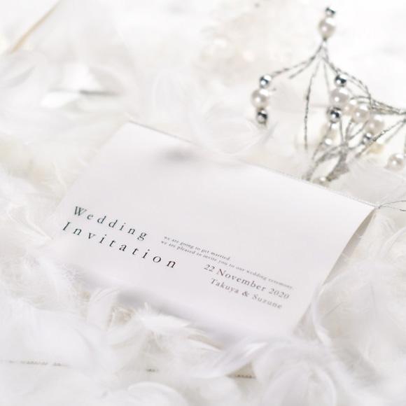 スウィートシュガー(1名様分)「招待状手作りセット」