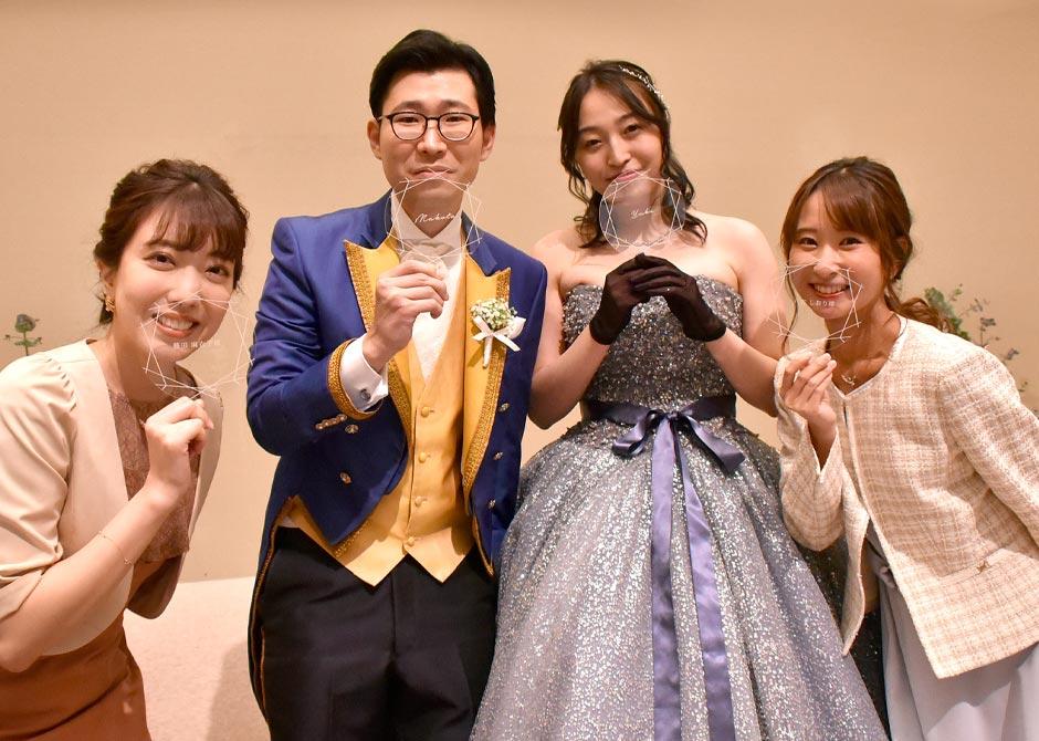 【特集】withコロナの結婚式レポート/フェイスシールドでおしゃれも安心も両立!
