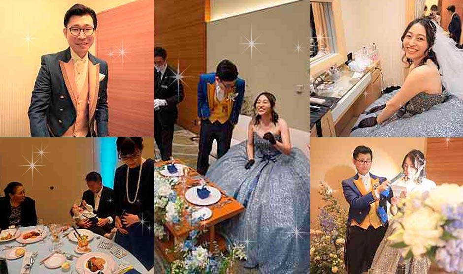 シンデレラをテーマにした結婚式