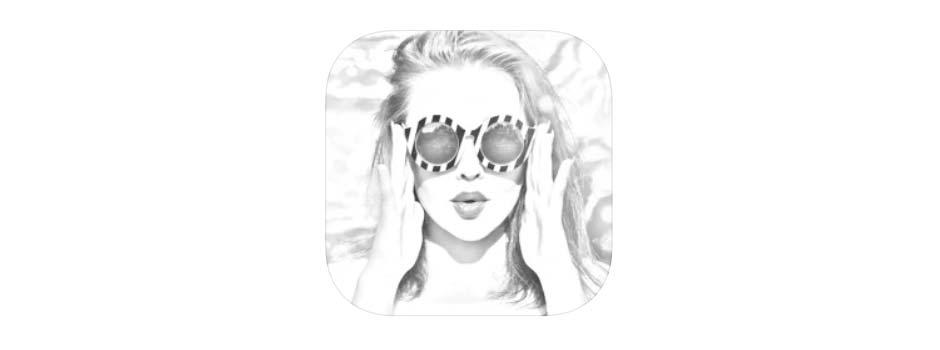 イラスト風に編集してくれるアプリSketch Photo Maker