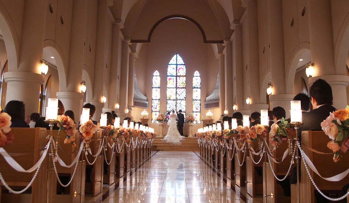チャペルで挙げる結婚式