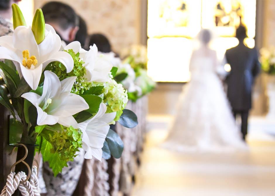 結婚式の演出にも使える結婚祝いのプレゼント