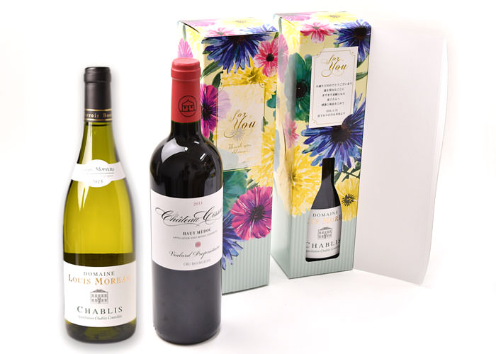 女性ソムリエの選んだこだわりのワインとのギフトセット