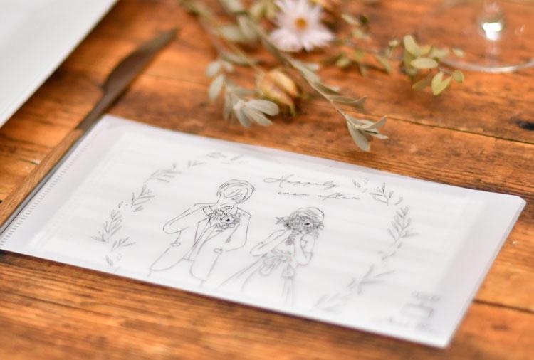 抗菌Ag+マスクケース「WEDDING」