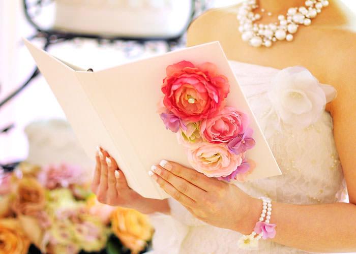 花嫁の手紙を子育て感謝状として贈呈できます