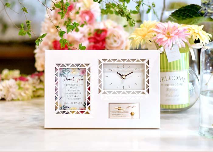 オルゴールメッセージカード付時計