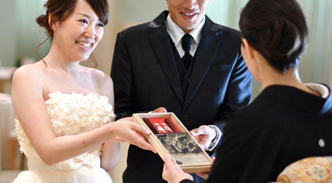 """幸せギフト♡ご両親に愛の""""箸""""わたし"""