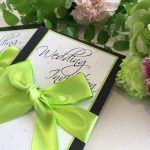 結婚式で使う招待状を準備する3つの方法