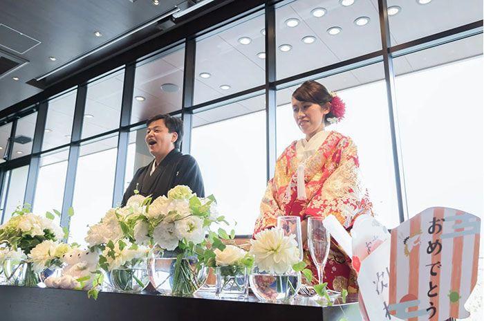 卒花嫁結婚式レポ