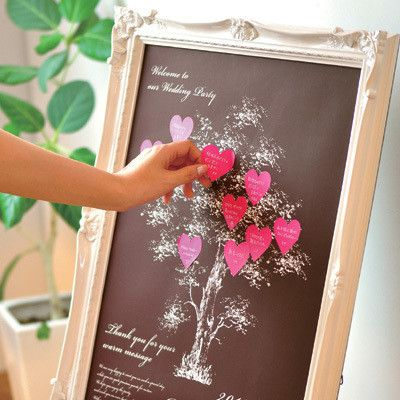 「寄せ書きウェルカムボード」Message Tree