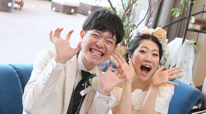 <卒花さん結婚式レポ>他にない世界に一つだけが溢れる結婚式