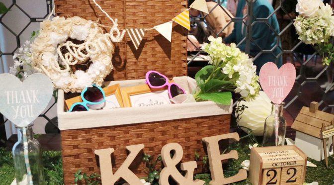 <卒花さん結婚式レポ>DIY&演出上手の結婚式♡テーマはリボン