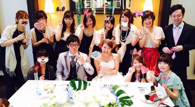 <卒花さん結婚式レポ>シンデレラ婚が実現ディズニー好き必見!