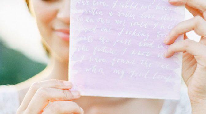 「現役司会者が語る」イマドキ花嫁の手紙書き方&読み方とは?