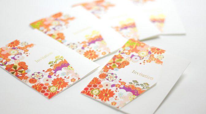 結婚式準備はここからはじまる!【両家顔合わせ食事会】専用の招待状SAMPLE作ってみた!