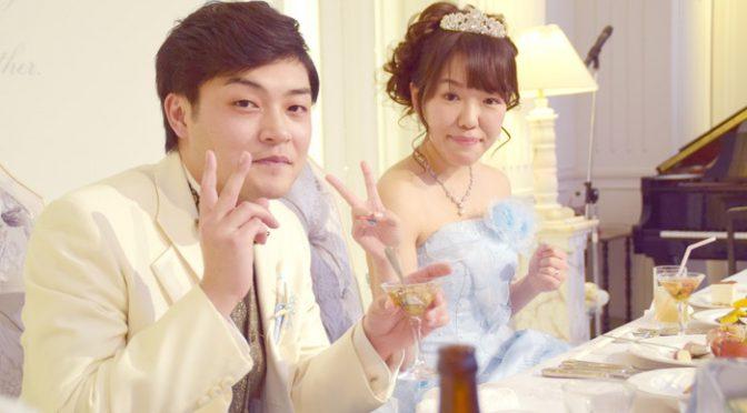 〈卒花さんの結婚式レポ〉会場全体が一体に!こんな式初めて!演出上手なパーティー♡