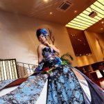 和洋折衷のドレス♡可愛くて上品で綺麗!和ドレスが今話題♡