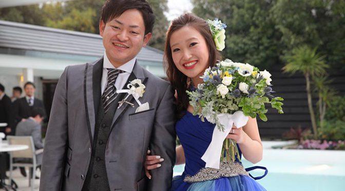 〈卒花さんの結婚式レポ〉テーマはリゾート&マリン♡憧れ叶ったウェディング