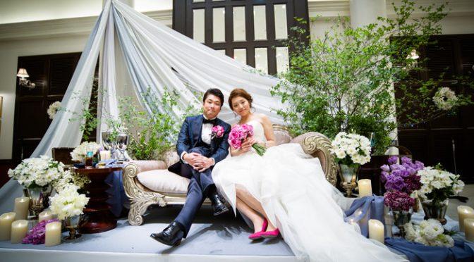 〈卒花さんの結婚式レポ〉センス抜群♡圧倒的なオシャレさで魅了する*貸切邸宅で叶えた『青い鳥』ウェディング