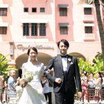 〈卒花さんの結婚式レポ〉ハワイの名門ホテルで叶ったクラッシーウェディング