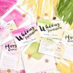 少人数婚さんいらっしゃい♡10部以下の招待状を作る方法、教えます。