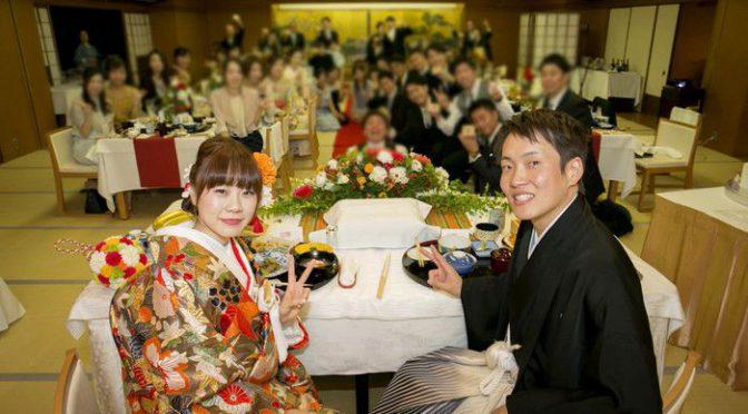 <卒花さんの結婚式レポ>挙式はあの世界遺産!!誰もが憧れる悠久の歴史を持つ古都での『京都和婚』
