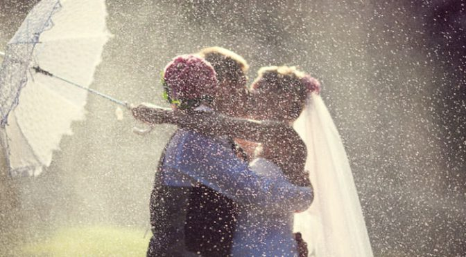 あなたは雨女or晴女?大雨・大雪挙式を乗り切る嵐も呼んじゃった卒花さんのエピソード