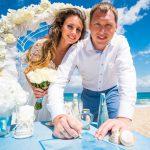 人前式のおしゃれな結婚証明書に使いたい夏のアイディア4選