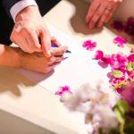 教会・人前式で必ず登場する結婚証明書の内容と様々なデザイン