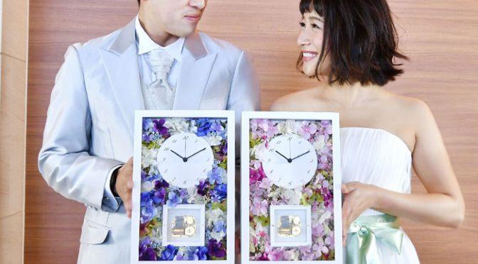花束の代わりに花時計を贈ろう!生花よりも嬉しくなれるポイント3つ
