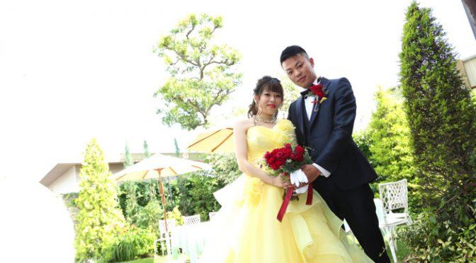 〈卒花さん結婚式レポ〉月モチーフに彩られた感動のウェディング♡