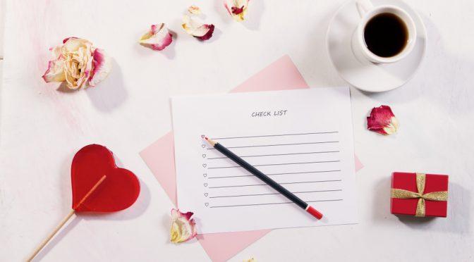 花嫁の手紙を書く前に!確認しておきたいことチェックシート