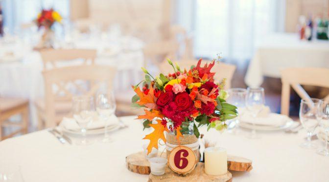 披露宴に程よい季節感はマスト!ゲストがほっこりできるアイデア