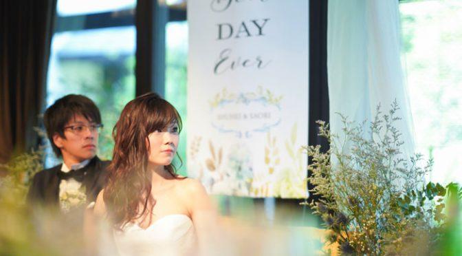 〈卒花さん結婚式レポ〉真似したいがたくさん♡なモダンウェディング