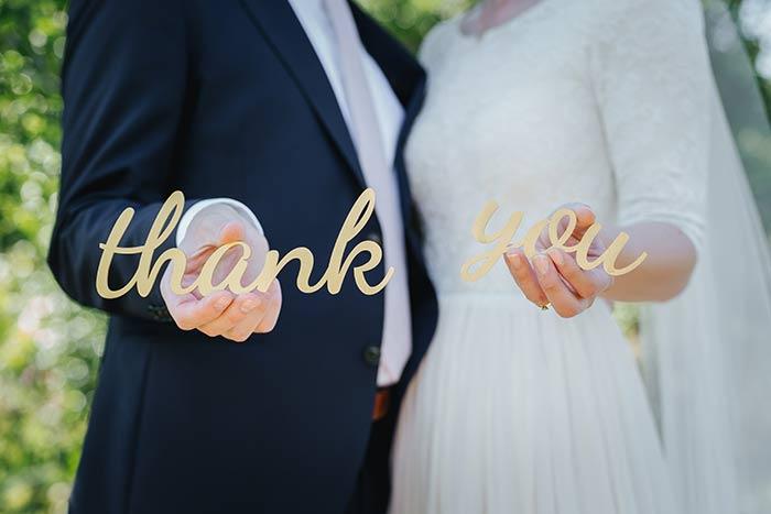 両親への感謝を伝える