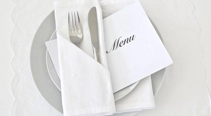 結婚式のメニュー表ってあったほうがいい?準備方法とアイデア実例8選
