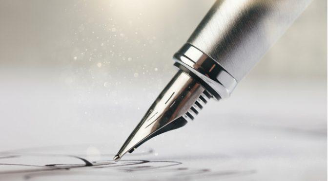 転写されるからこそ筆記具にこだわりたい!手書きアイテム