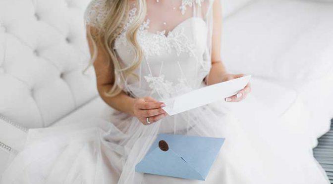 花嫁の手紙どんなの書いた?参考にしたい!手紙の内容大公開!