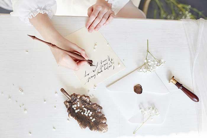 花嫁の手紙の基本