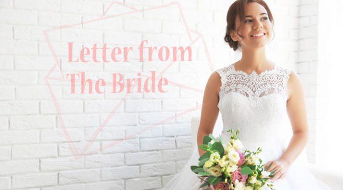 ありがとうを伝えてくれる花嫁の手紙で華やかさをたっぷり演出しよう