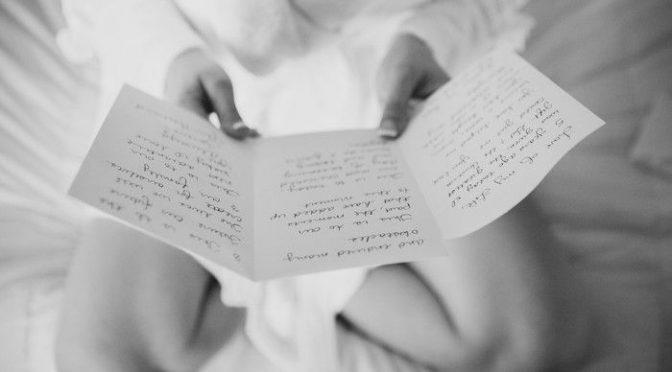 本当は読みたくないけど・・・花嫁の手紙文例~家族が微妙な関係編~