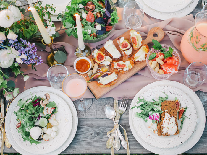 結婚式の一つの楽しみであるお料理