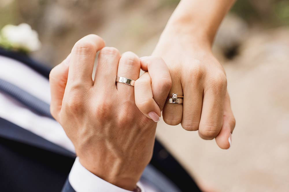 結婚指輪、婚約指輪
