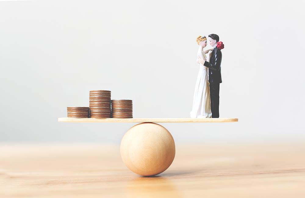 結婚式の予算、費用